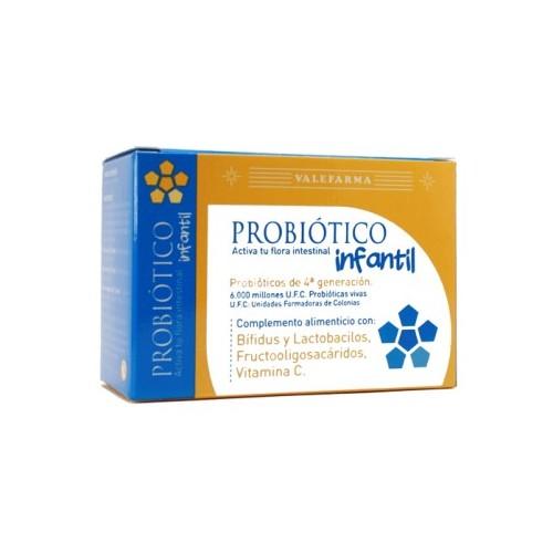 PROBIÓTICO INFANTIL VALEFARMA 8 VIALES DE 10 ML.